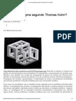 O Que é Paradigma Segundo Thomas Kuhn_ _ Filosofonet