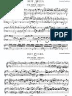"Huit pieces, op.60 No6 ""Tema Variato"" piano sheet music"