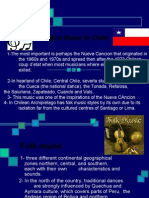 Modern Music in Chile