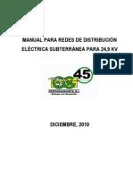 Manual Redes de Distribucion Subterranea 2010
