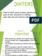 c Programming Pointers Type