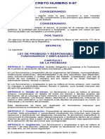Ley de Probidad y Responsabilidades de Funcionarios y Empleados Publicos