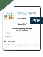 calgary reads levels i and ii tutor training
