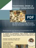 Medicina Tradicional Desde La Visión Del Químico Farmaceutico