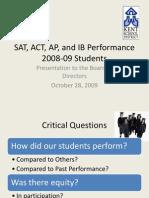 SAT ACT AP IB Perform10!28!09final