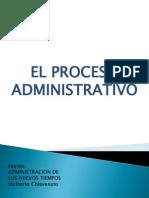 El Proceso Administrativo CHIAVENATO