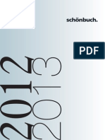 Schoenbuch Katalog Endverbraucher 2012 2013
