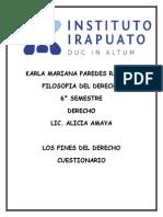 Los Fines Del Derecho Yel Cuestionario2