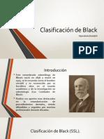 Clasificación de Black