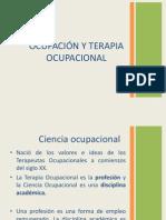 Ocupacion y Terapia Ocupacional
