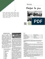Revista Forjar La Paz