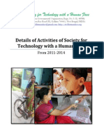 details of activities of society for technology with a human face 20142