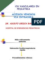 Acceso Vascular en Pediatria