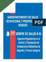 Aspectos Regulatorios Seremi Salud