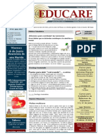 Newsletter Educare Nº 24- Junio