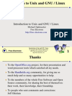 Unix Linux Introduction