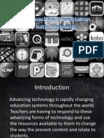 digital teaching presentation