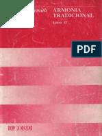 Armonia Tradicional Libro II Paul Hindemith