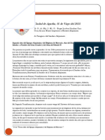 Carta Al Soberano Gran Comendador de Cuba