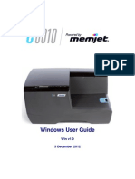 Memjet C6010 Windows UserGuide