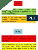 Hubungan Kadar HbA1C Terhadap Pengobatan Dan Perannya Pada