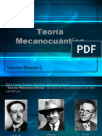 teoria mecanocuantica