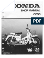 Honda Manual Shop C-70