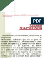 TERCER_MILITARISMO.2011