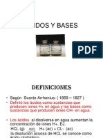 Acidos y Bases . Amortig