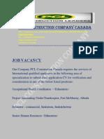 Pcl Construction Company Canada