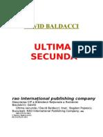 David Baldacci - Ultima Secunda