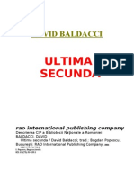 David Baldacci - Ultima Secunda