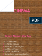 Cinema PPT