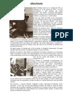 Biografía Einstein