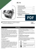 Manual Tensiometro Beurer Bc19
