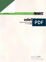 Mecc a-192 Odell Lake Manual Apple II Version