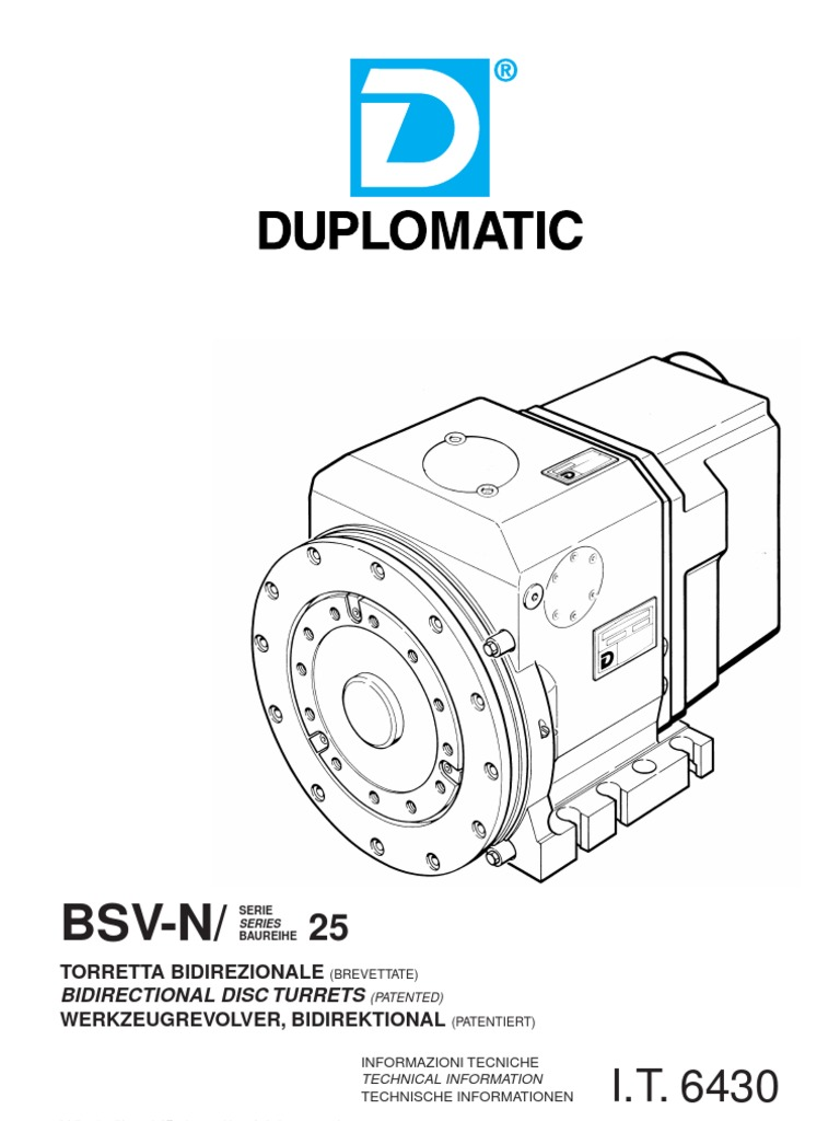 DUPLOMATIC TURRET 1