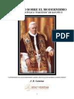 Catequese Sobre o Modernismo(Lemius) .