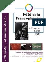 Programme Francophonie à Oullins