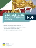 Arbeiten in Deutschland Und Vertragslosen Ausland