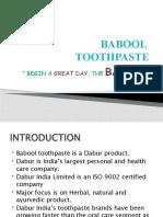 Babool Presentation