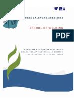Wri Course Calendar 2013-14