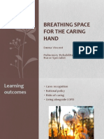 Breathing space for carers