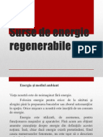 Surse de Energie Regenerabile