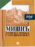 MISIC Sinisa (1996), Humska Zemlja u Srednjem Veku, Beograd (383)