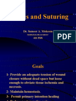 Sutures and Suturing