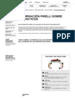 Presiones de Neumáticos - Medidas, Tipos de Neumaticos_ Cubiertas 14, 15, 17, 18 - PIRELLI ESPAÑA