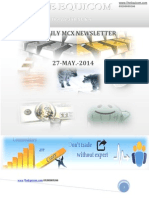 Daily Mcx Newsletter 27 May 2014