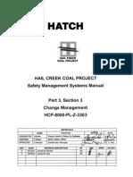 HCP-8000-PL-Z-3303 P3 S03 Change Management Rev 0