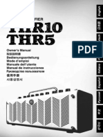 THR10 - THR5 Guitar Amplifier Manual Ru